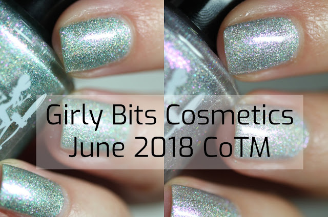 Girly Bits June 2018 COTM swatch by Streets Ahead Style