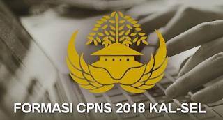 Berikut infformasi kuota dan formasi lengkap pengadaan CPNS 2018 dari wilayah kalimantan selatan, bajarmasin banjarbaru, kotabaru, h