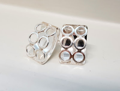 hopeakorut, hopeatyöt, korvakorut