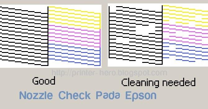 Cara Mencetak Nozzle Check pada Printer EPSON - Printer Heroes