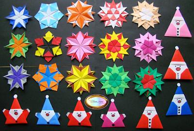 gấp giấy origami 3d đơn giản