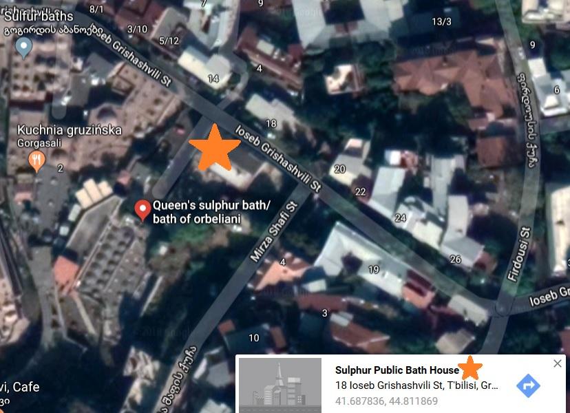 Łaźnie publiczne Tbilisi