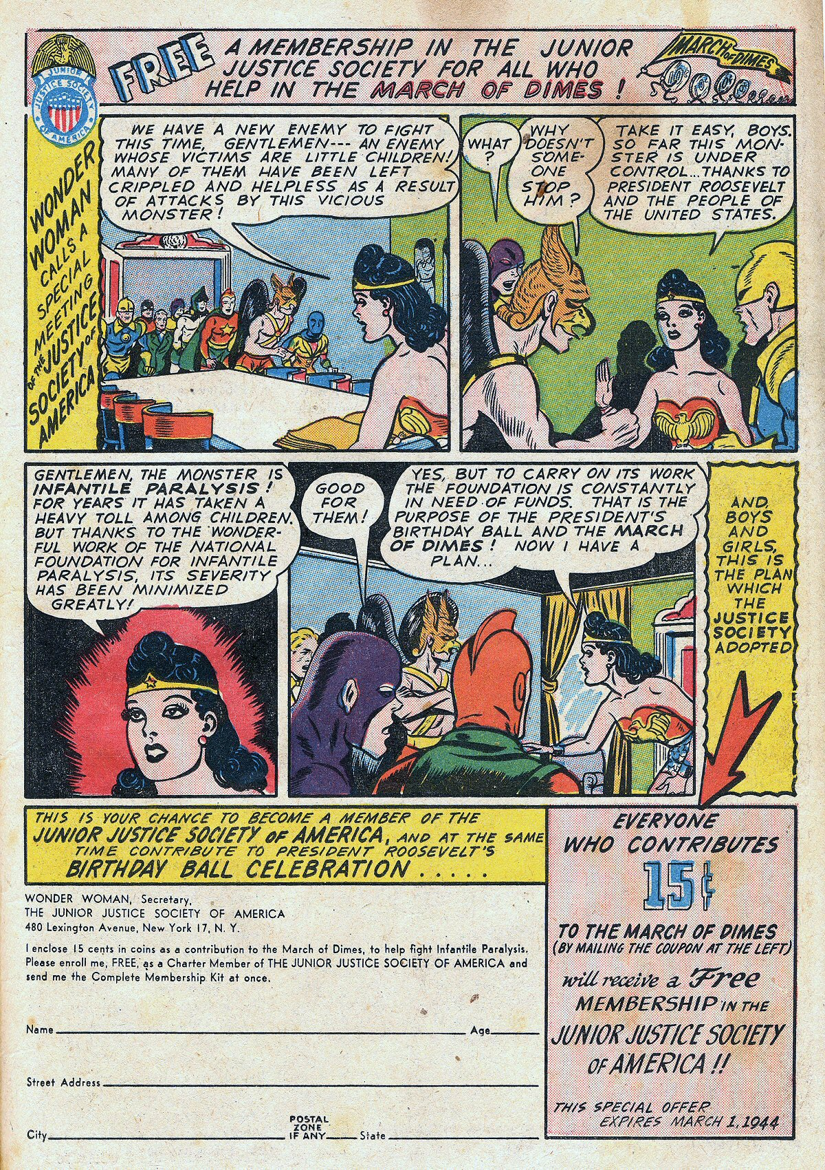 Read online All-Star Comics comic -  Issue #20 - 24