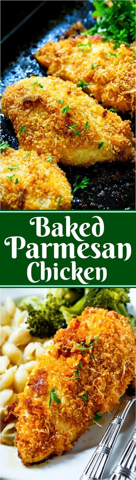 Delicious Baked Parmesan Chicken