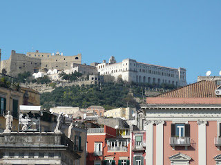 Castel Sant'Elmo (left) and the Certosa San Martino
