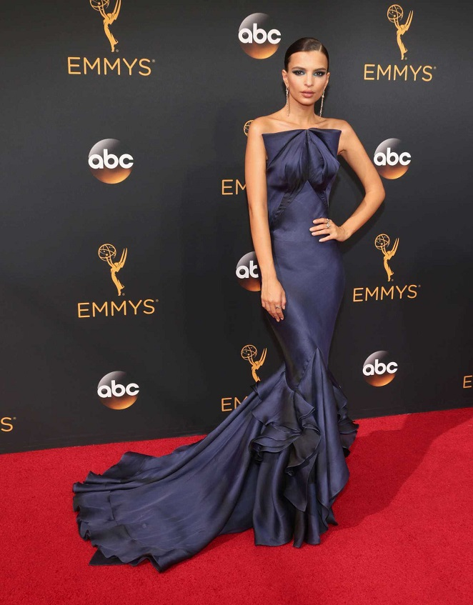 Emily Ratajkowski at 2016 Emmy Awards in LA