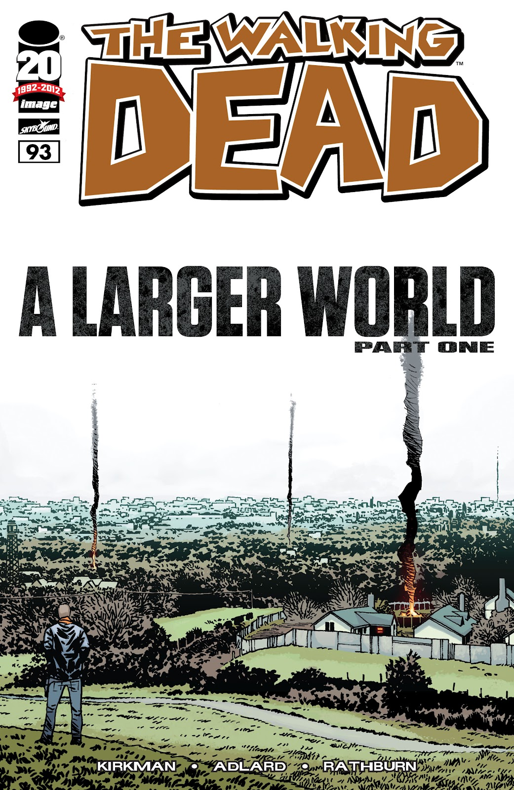 The Walking Dead issue 93 - Page 1