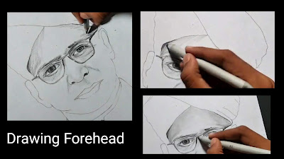 How to draw Dr Sarvepalli Radhakrishnan, step by step tutorial, how to draw Dr Sarvepalli Radhakrishnan, freedom fighters drawing, online drawing, drawing for begginers, easy to draw, drawing for kids, class 8 drawing