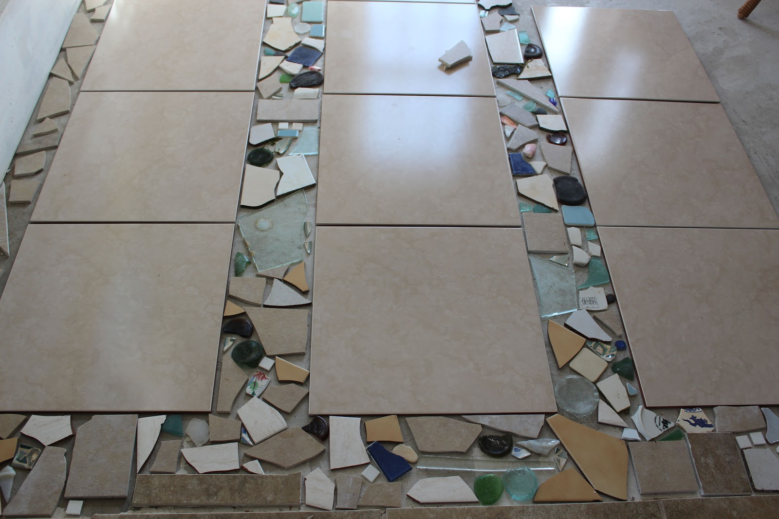 Avente Tile Talk Creative floor tiling