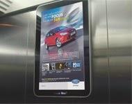 Quảng cáo trong thang máy của quảng cáo Chicilon Media