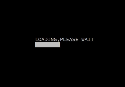 C++ program to create a loading bar