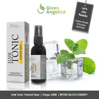 Obat Uban, Cara Menumbuhkan Rambut Botak, Hair Tonic Green Angelica