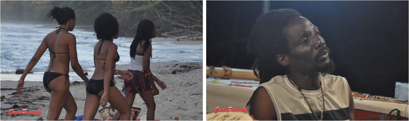 La población local de Cahuita y Puerto Viejo es de piel muy morena. No es difícil ver rastas en esta zona del Caribe. Mas en Blog de viajes de Costa Rica