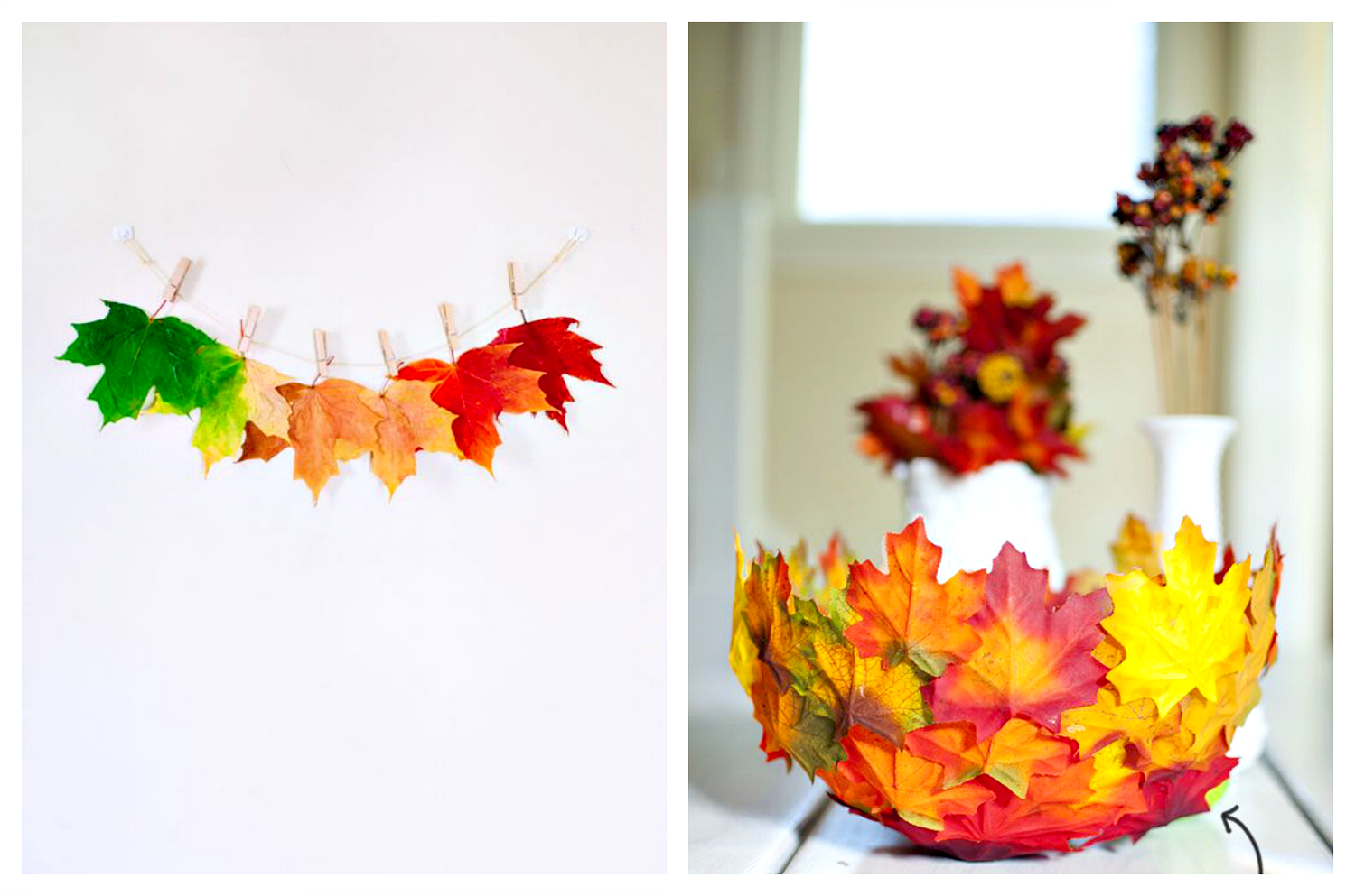 fall leaves diy