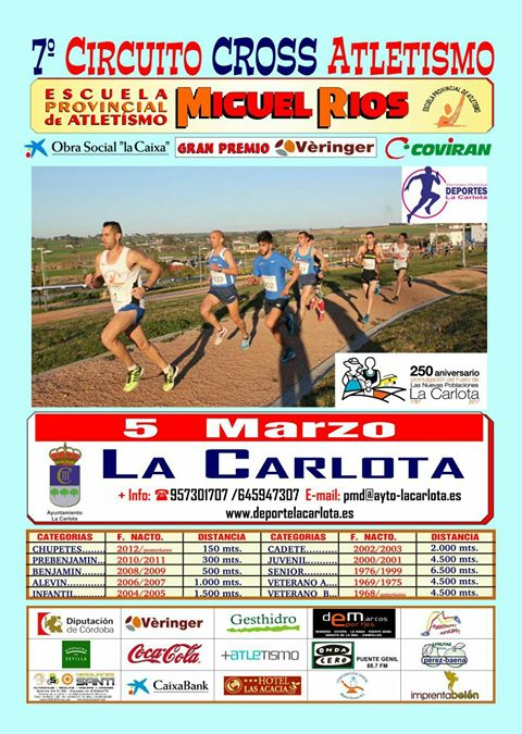 Cross Atletismo 2017
