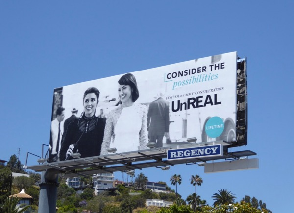 UnREAL season 2 Emmy FYC billboard