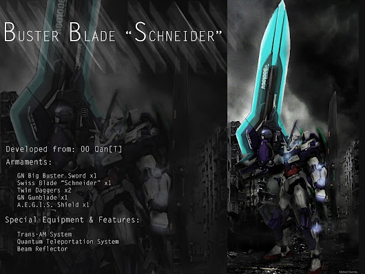 "CUSTOM BUILD: BUSTER BLADE ""SCHNEIDER"""