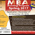 BOU MBA (Evening) Program Admission (Spring, 2017 semester)