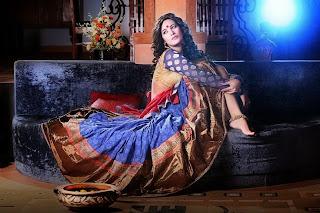 Poonam Pandey's Vibrant Desi Look Photoshoot