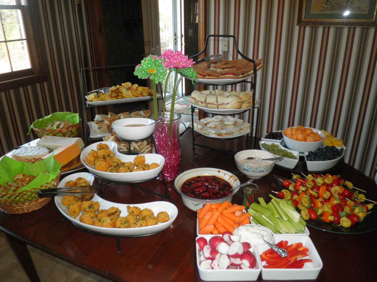 Baby Shower Food Ideas: Baby Shower Food Buffet Ideas
