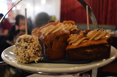 Afternoon tea at Tyneside Bar Cafe in Newcastle - homemade cakes