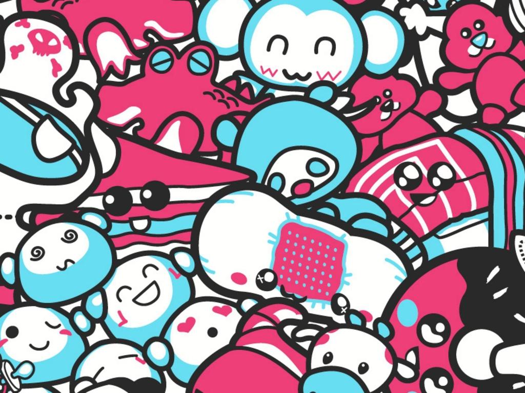 Wallpaper Bluos: Cute Wallpaper