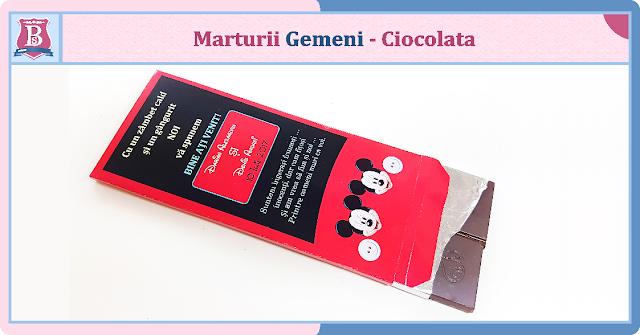 marturii gemeni cutii de ciocolata