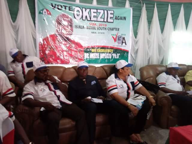 @GovernorIkpeazu's good works in Abia have given him a pass mark for 2019– Isikaku