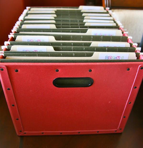 Hanging File Boxes