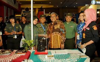 Puspen TNI Ikuti Pameran Anugerah Media Humas