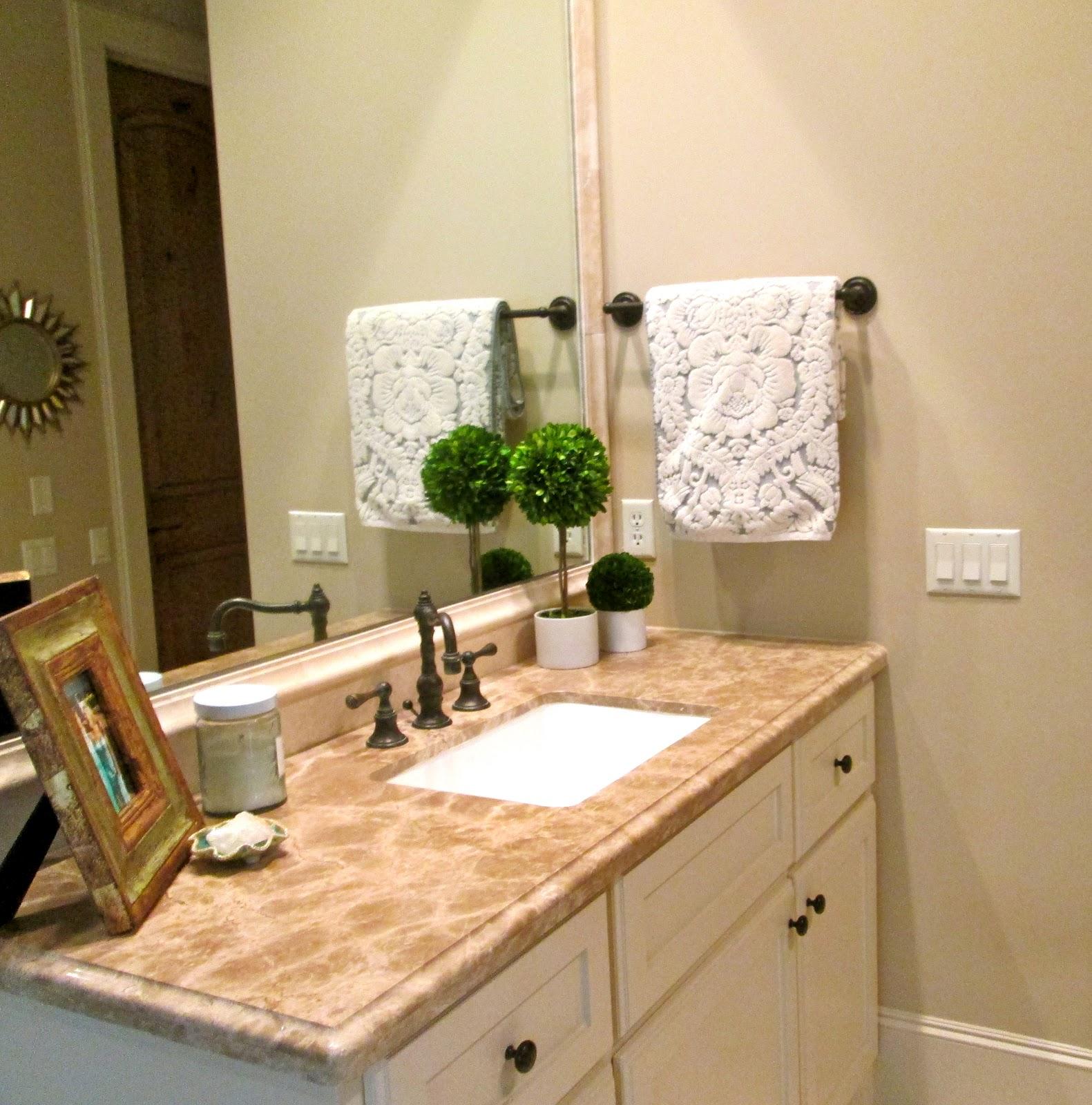 Decorative Bathroom Towels