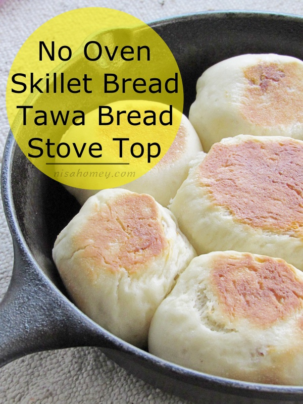 No Oven Bread Recipe - How To Make Chicken Bread Rolls On ...