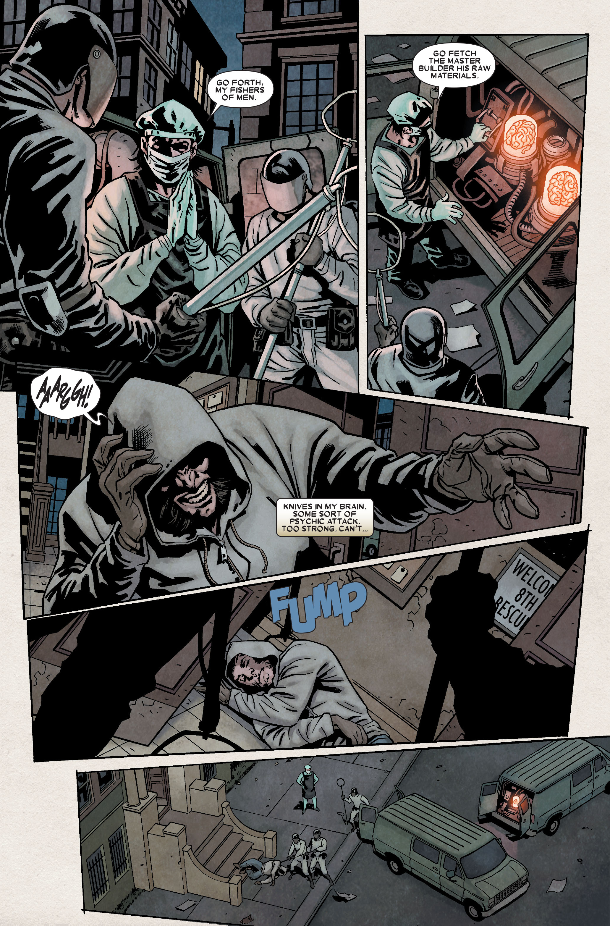 Read online Wolverine: Weapon X comic -  Issue #8 - 12