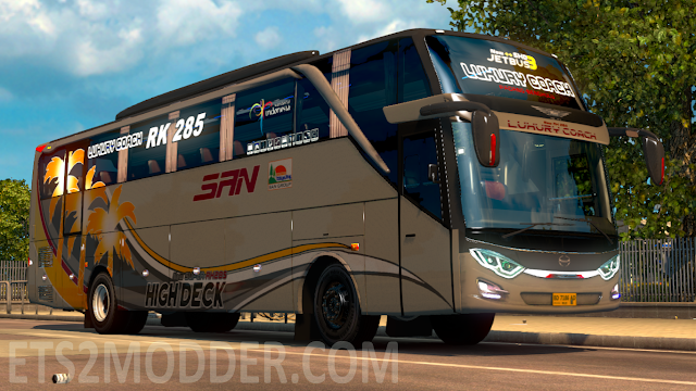Jetbus 3 Shd Hdd By Rindray Ets2 Mod Ets2 Indonesia