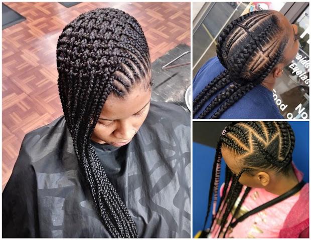stylish braids hairstyles 2018