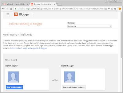 Cara Membuat Blog Menggunakan Blogger