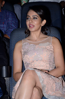 rakul preet at imax stills
