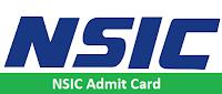 NSIC Admit Card