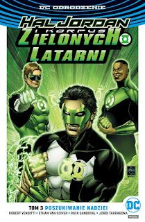 Hal Jordan i Korpus Zielonych Latarni tom 3: Poszukiwanie nadziei okładka