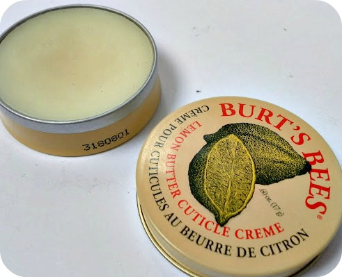 A picture of Burt's Bees Lemon Butter Cuticle Creme
