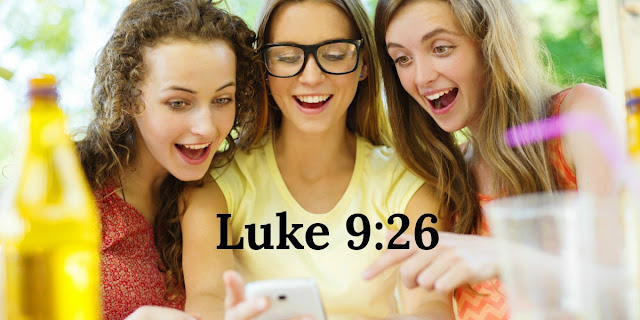 Stupid Has No Age Limit and neither does peer pressure - Luke 9:26