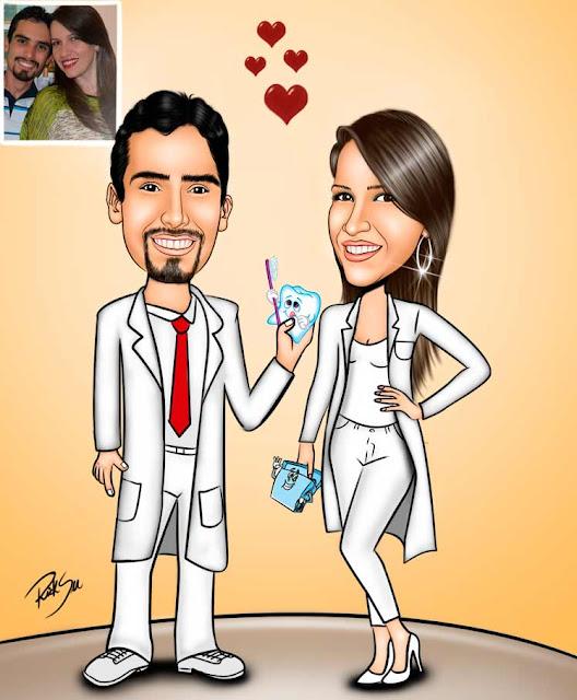 #brindes #banner #dentista #jaleco #desenho #caricaturas #ricksucaricaturas #rabisqueiro #formandos #odonto