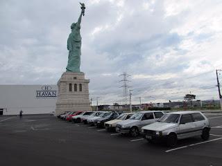 """Encontro de Fiats realizado em Hortolândia. Foto: acervo """"Só Fiat Uno"""""""