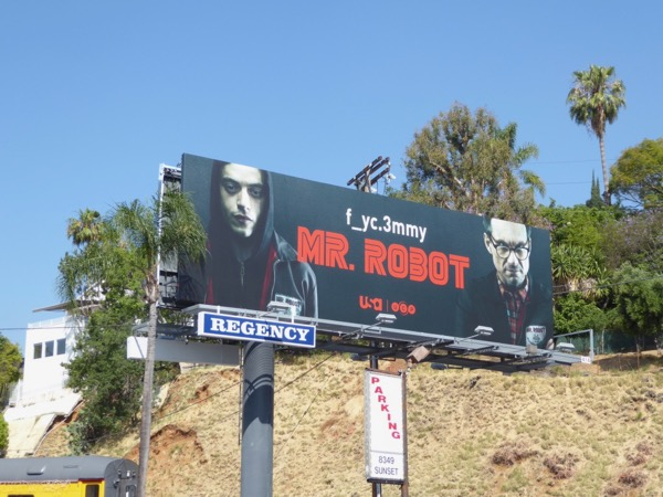 Mr Robot season 2 Emmy FYC billboard