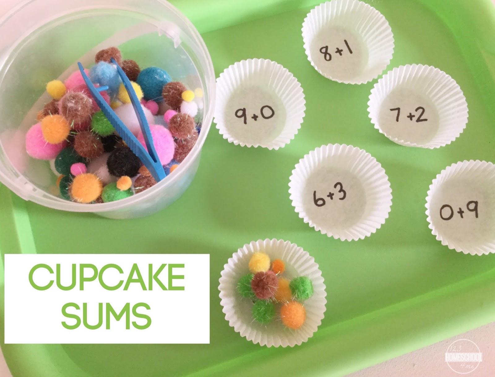 Cupcake Math Activity