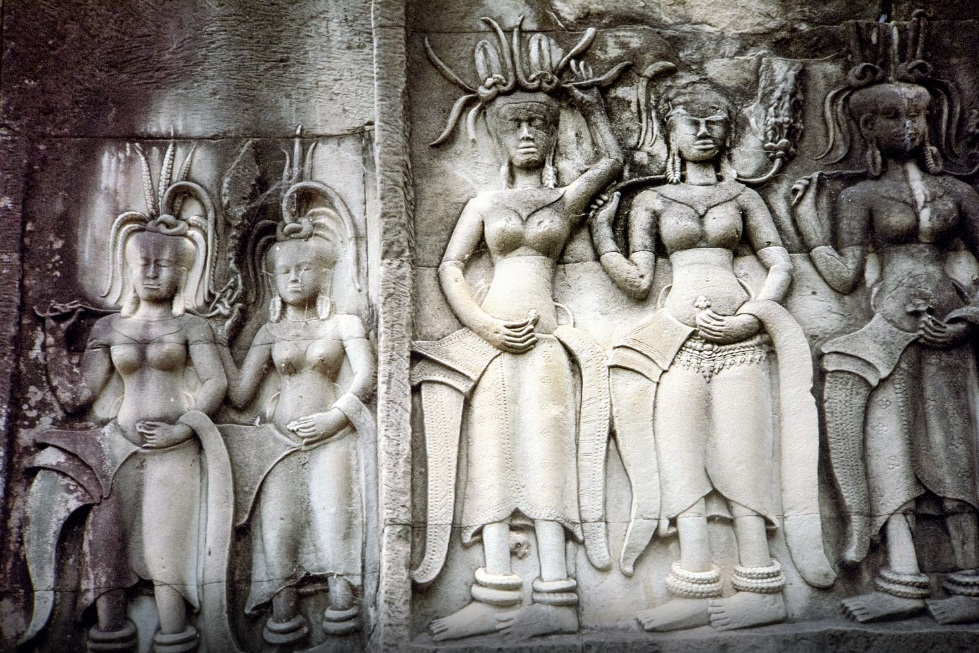 Angkor Wat temples are unique