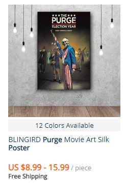 the purge posters