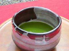 佛日庵の抹茶