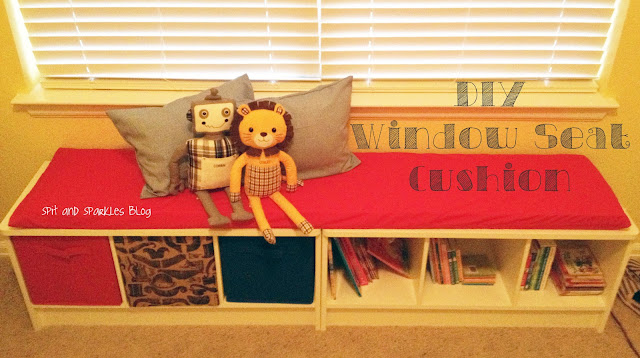 DIY, do-it-yourself, window set cushion, window seat, cushion, DIY window seat cushion