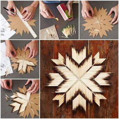 Christmas Tree Made From Sticks